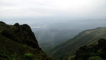 mist clad Mullayanagiri