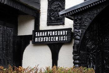 Sarah Ponsonby plaque