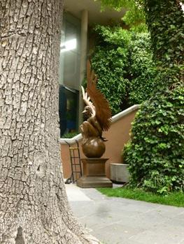 outdoor sculpture Mexico city