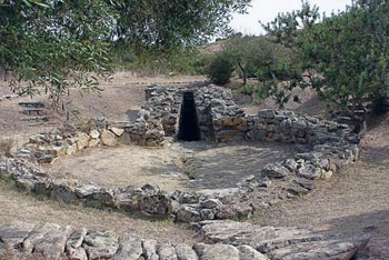 sacred well of Santa Cristina