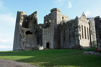 remains of 2nd cathedral at Rock of Cashel