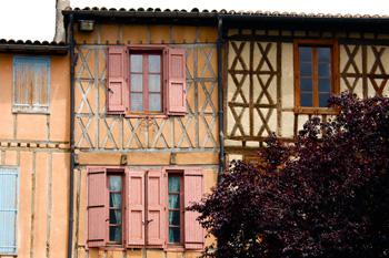 Mirepoix houses