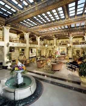 Davenport Hotel lobby