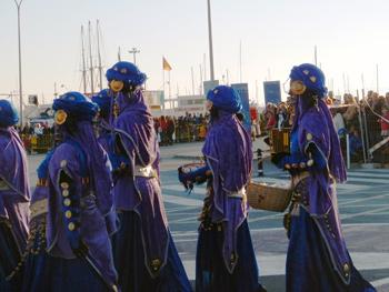Parade of 3 wise men