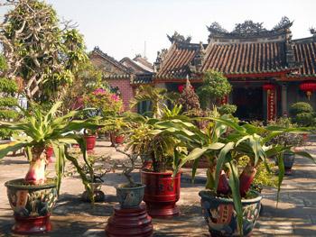 Hoi An courtyard