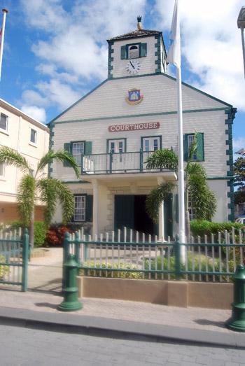 court house St. Maartins