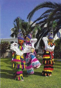 dancers wearing Bermuda wardrobe