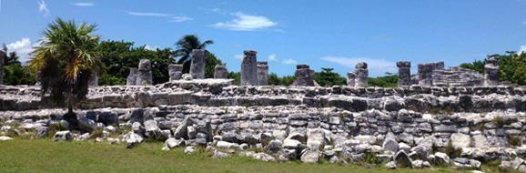 Columns at El Ray temple