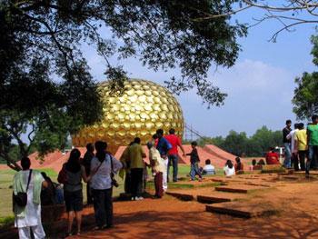 ashram at Auroville