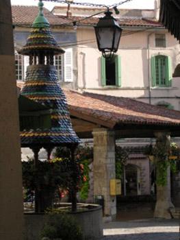 Pagoda fountain, Anduze