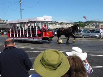 Douglas horse-drawn tram