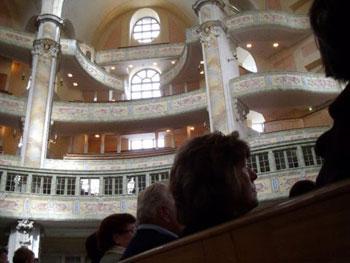 interior The Frauenkirche