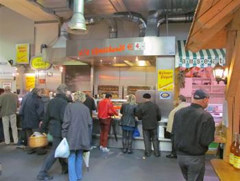 Wels, Austria food market