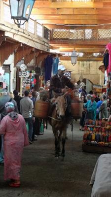 The medina, Fes