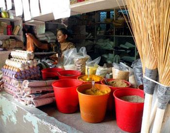 Indian market in Nadi
