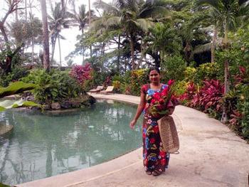 Indo-Fijian woman