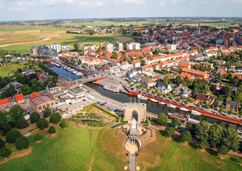 view from Yser tower