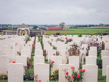 Tyne Cot War cemetery