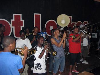 band on Bourbon St.