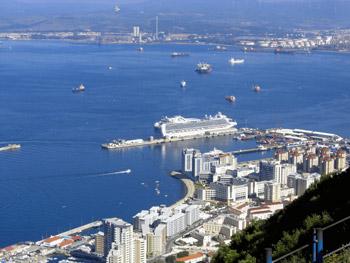 west side of Gibraltar