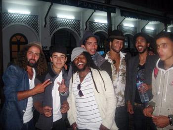 Moroccan musicians