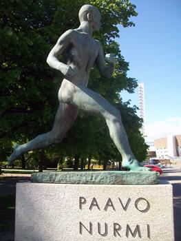 statue near olympic statium
