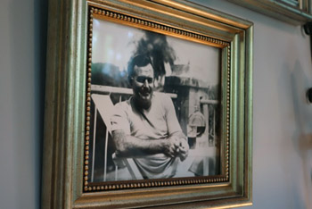 Photo of Hemingway