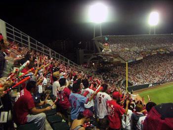 stadium spectators
