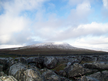 Ingleborough peak