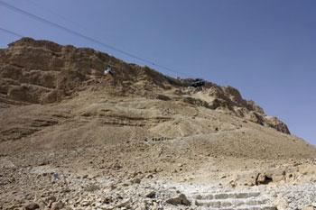 Qumran hillside