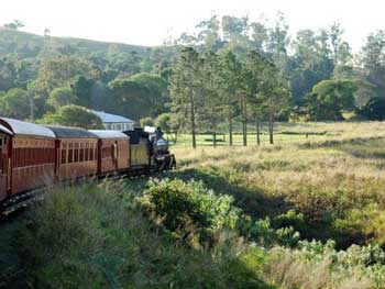 Mary Valley Heritage Railway train
