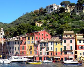 Portofino, Italy houses