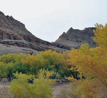 Navajo land in Arizona