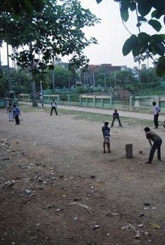 Kolkata children playing