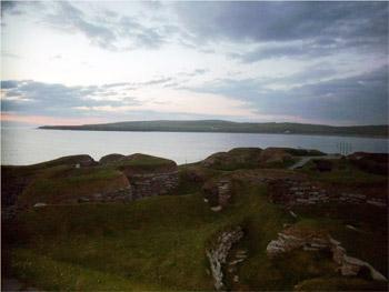 Skara Brae shoreline