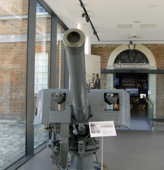 HMS Destroyer gun