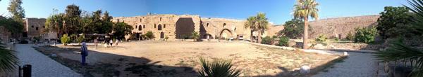 Kyrenia Castle courtyard