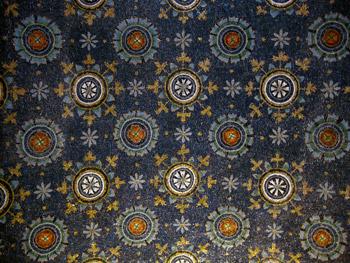 Mosaic in Mausoleum of Galla Placidia