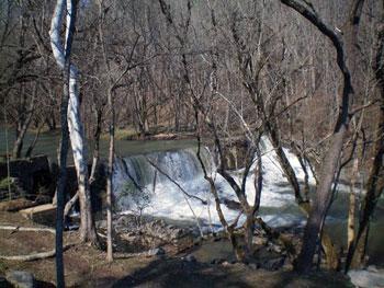 waterfall on Big Creek