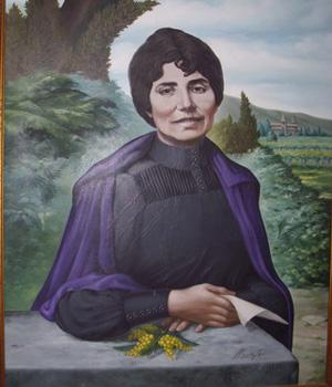 Rosalia de Castro portrait