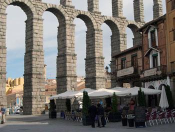 Roman aquqaduct, Segovia