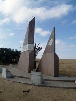 Walvis Bay, Namibia monument