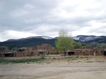 Taos pueblo houses