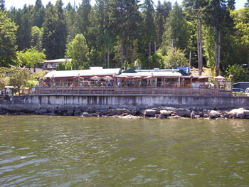 Pub at Telegraph Harbour