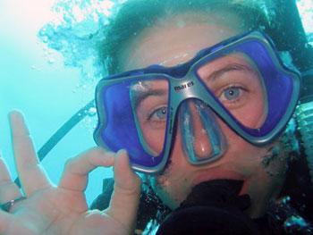 diver gives