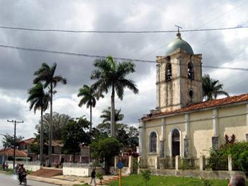 church in Vinales Cuba
