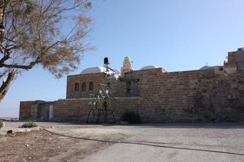 Caravanserai at An Nabi Musa