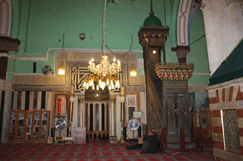 Prayer Hall in the Mosque of Ibrahimi