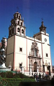 Church of the Basilica, Guanajuato