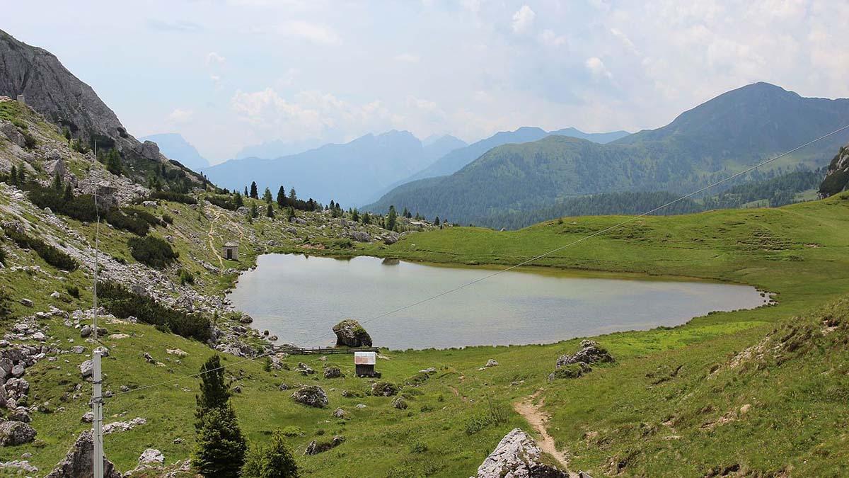 Lake Valparola